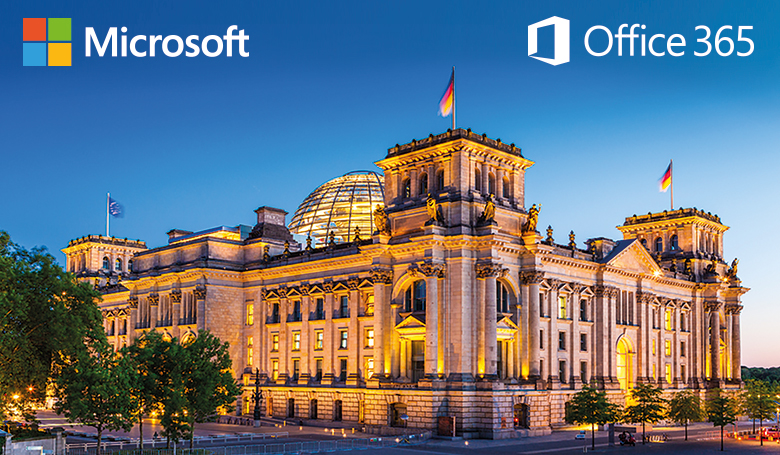 [Translate to english:] Microsoft Office 365 Deutschland